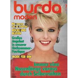 burda Moden 7/Juli 1983 - Röcke und Blusen