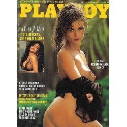Playboy Nr.11 / November 1991 - Bianca Beier