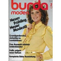 burda Moden 2/Februar 1982 - Neuer Frühling neuer Modestil