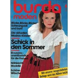 burda Moden 4/April 1982 - Schick in den Sommer