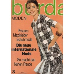 burda Moden 3/März 1970 - Die neue internationale Mode