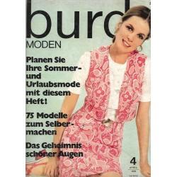burda Moden 4/April 1970 - Sommer und Urlaubsmode