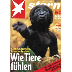 stern Heft Nr.52 / 20 Dezember 1995 - Wie Tiere fühlen