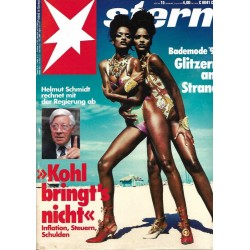 stern Heft Nr.15 / 2 April 1992 - Glitzern am Strand