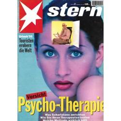 stern Heft Nr.27 / 29 Juni 1995 - Vorsicht Psycho Therapie