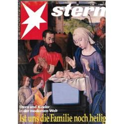 stern Heft Nr.52 / 22 Dezember 1993 - Ist uns die Familie noch heilig?