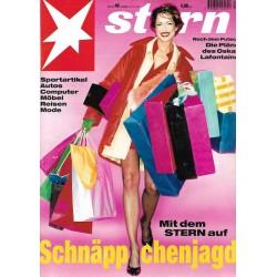 stern Heft Nr.48 / 23 November 1995 - Schnäppchenjagd