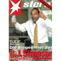 stern Heft Nr.42 / 12 Oktober 1995 - O.J. Simpson