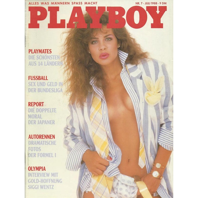 Playboy Nr.7 / Juli 1988 - Teri Weigel
