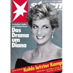 stern Heft Nr.38 / 10 September 1992 - Das Drama um Diana
