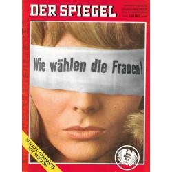 Der Spiegel Nr.36 / 1 September 1969 - Wie wählen die Frauen?