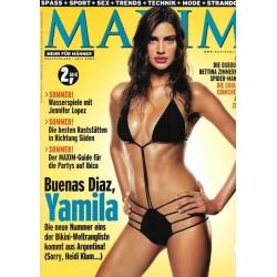 MAXIM Juli 2002 - Yamila Diaz-Rahi