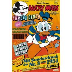 Micky Maus Nr. 7 / 4 Februar 1987 - Rubbel Bingo