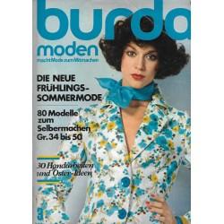 burda Moden 3/März 1975 - Frühlings Sommermode