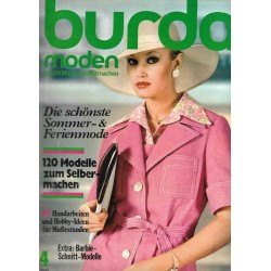 burda Moden 4/April 1975 - Sommer & Ferienmode