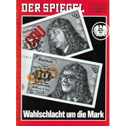 Der Spiegel Nr.34 / 18 August 1969 - ... Wahlschlacht um die Mark