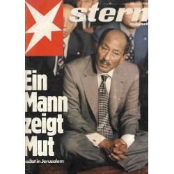 stern Heft Nr.49 / 24 November 1977 - Ein Mann zeigt Mut