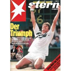stern Heft Nr.29 / 11 Juli 1991 - Der Triumph