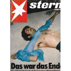 stern Heft Nr.45 / 27 Oktober 1977 - Das war das Ende