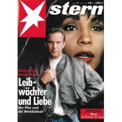 stern Heft Nr.5 / 28 Januar 1993 - Bodyguard Kevin Costner
