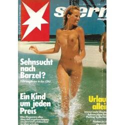 stern Heft Nr.34 / 17 August 1978 - Urlaub allein