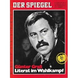 Der Spiegel Nr.33 / 11 August 1969 - Günter Graß