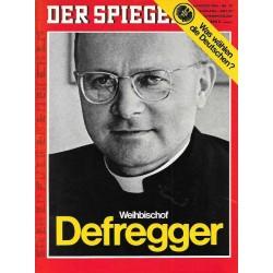 Der Spiegel Nr.32 / 4 August 1969 - Weihbischof Defregger