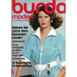 burda Moden 5/Mai 1975 - Nähen Sie jetzt ihr Sommerkleid