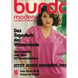 burda Moden 10/Oktober 1978 - Geschenk Ideen