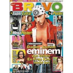 BRAVO Nr.33 / 6 August 2003 - Eminem Liebeskummer!