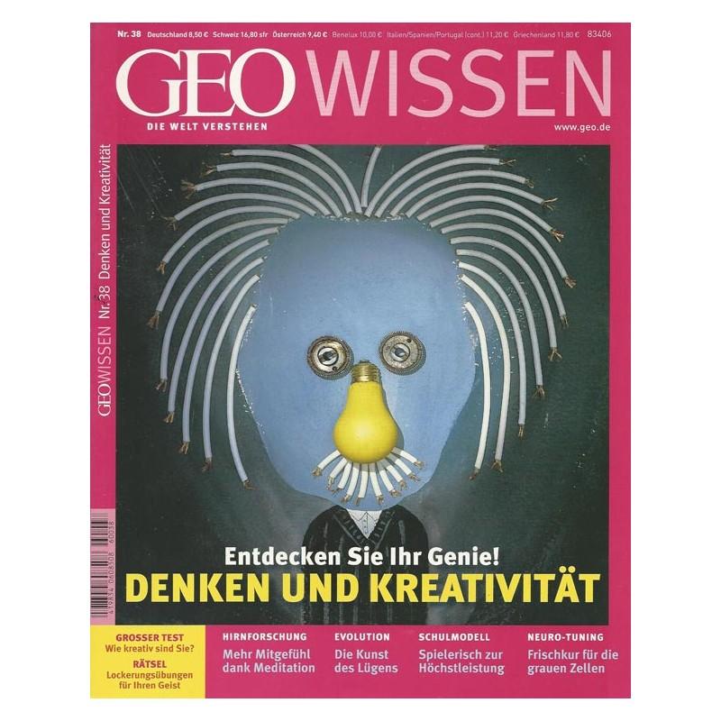 Geo Wissen Nr. 38/2006 - Denken und Kreativität