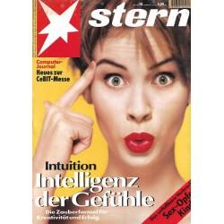 stern Heft Nr.10 / 2 März 1995 - Intelligenz der Gefühle