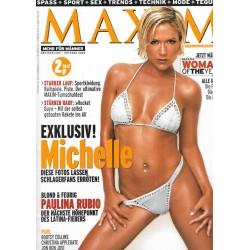 MAXIM Oktober 2002 - Michelle