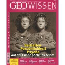 Geo Wissen Nr. 32/2003 - Verhalten, Persönlichkeit, Psyche