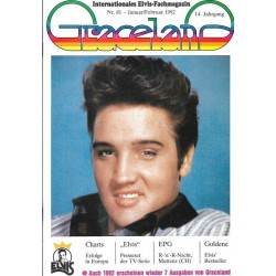 Graceland Nr.81 Januar/Februar 1992 - Charts Erfolge in Europa
