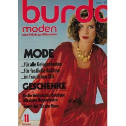 burda Moden 11/November 1978 - Mode im fraulichen Stil