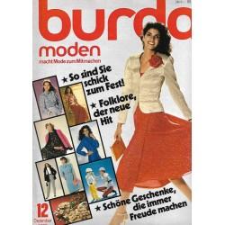 burda Moden 12/Dezember 1980 - So sind Sie schick zum Fest!