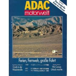 ADAC Motorwelt Heft.4 / April 1992 - Ferien, Fernweh, große Fahrt