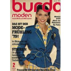 burda Moden 2/Februar 1979 - Das ist der Mode Frühlung