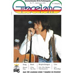 Graceland Nr.77 Juli/August 1991 - Song: Hound Dog