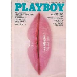 Playboy Nr.9 / September 1980 - Monique John