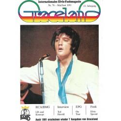 Graceland Nr.76 Mai/Juni 1991 - Elvis Special