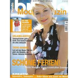 burda Moden 7/Juli 2003 - Schöne Ferien!