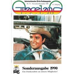 Graceland Nr.73 November/Dezember 1990 - Sonderausgabe