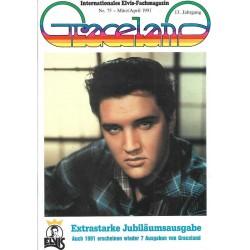Graceland Nr.75 März/April 1991 - Extra Jubiläumsausgabe