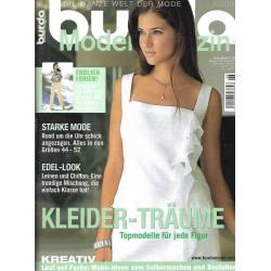 burda Moden 6/Juni 2003 - Kleider Träume
