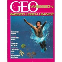 Geo Wissen Nr. 2/1988 - Wasser + Leben + Umwelt