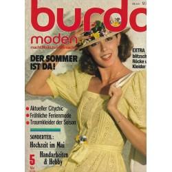 burda Moden 5/Mai 1978 - Der Sommer ist da!