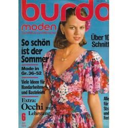 burda Moden 6/Juni 1978 - So schön ist der Sommer
