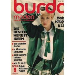 burda Moden 9/September 1978 - Die besten Herbst-Ideen
